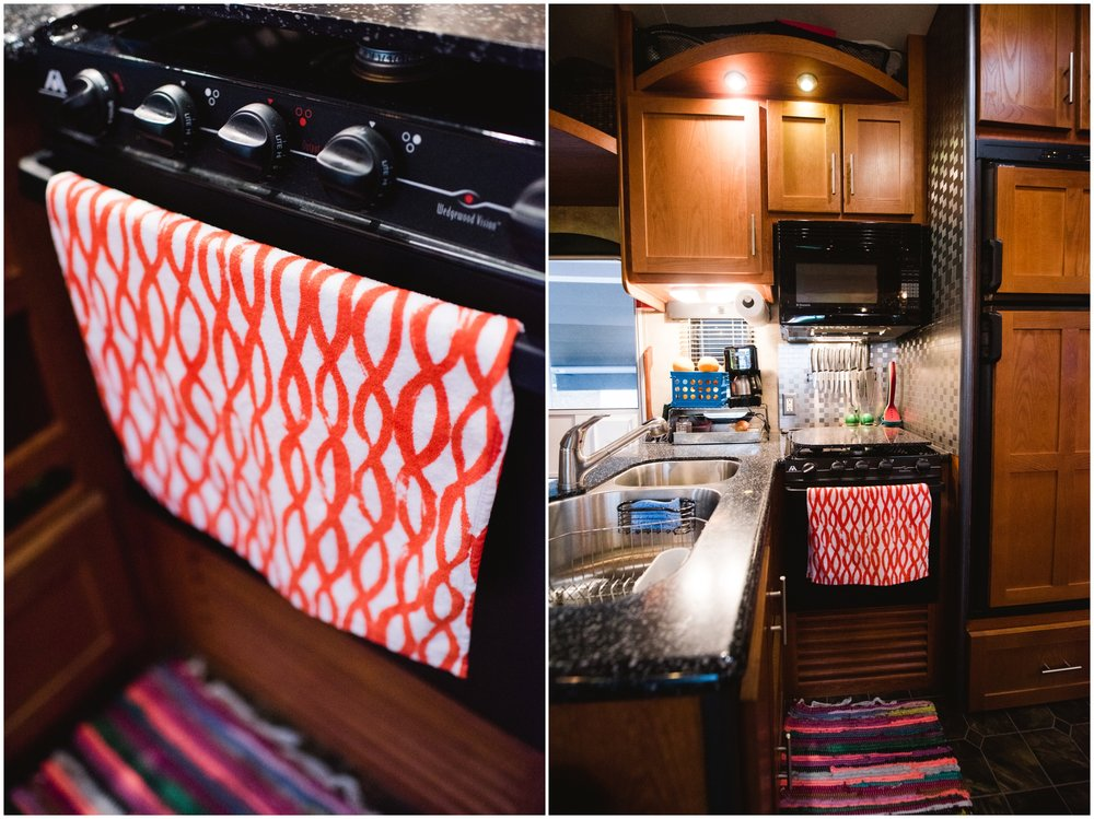 rv kitchen makeover