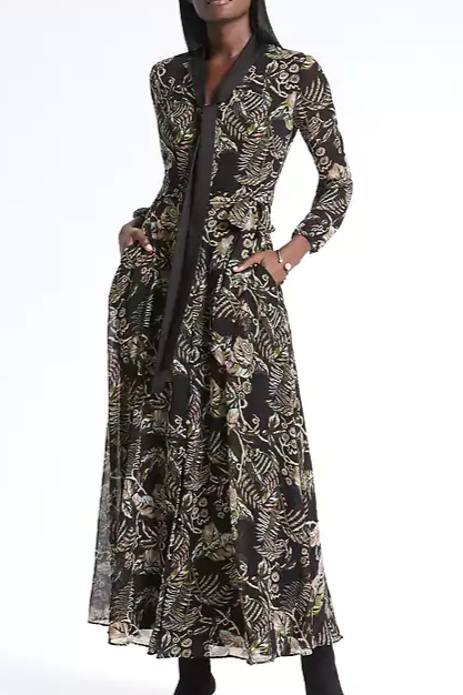 maxi tie neck dress.PNG