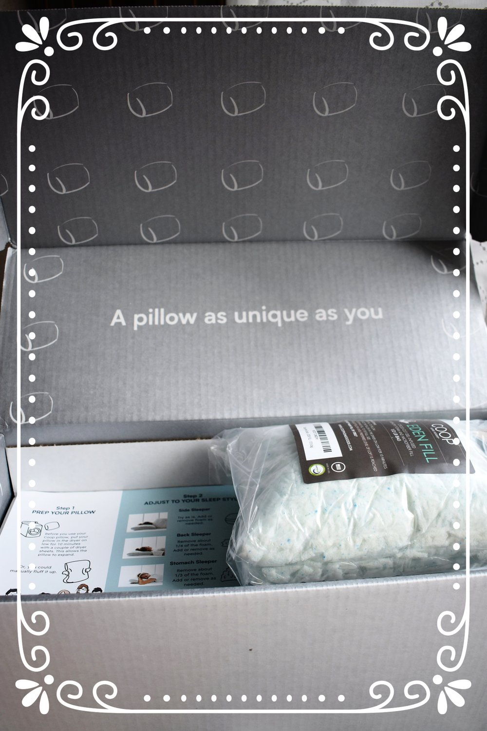 Coop Home Goods Eden Pillow Product Review Sweet Dreams Inspire With Embroider Dream Behold The Adorableness Of Their Packaging
