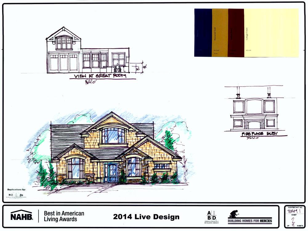 Rocky Mountain Plan Company BALA elevation