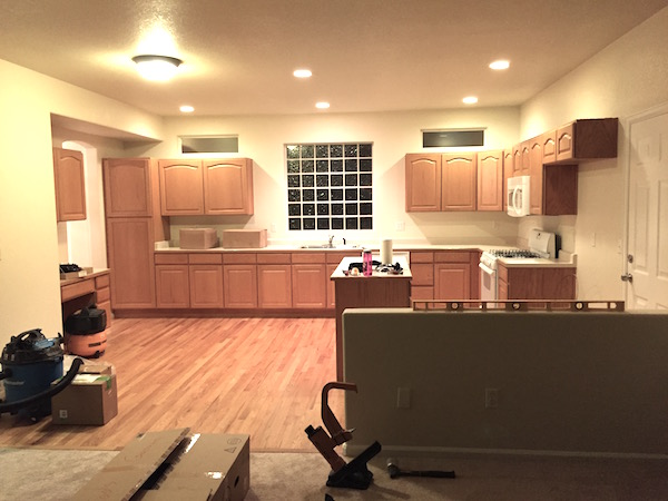 Building a Kitchen: Part 1