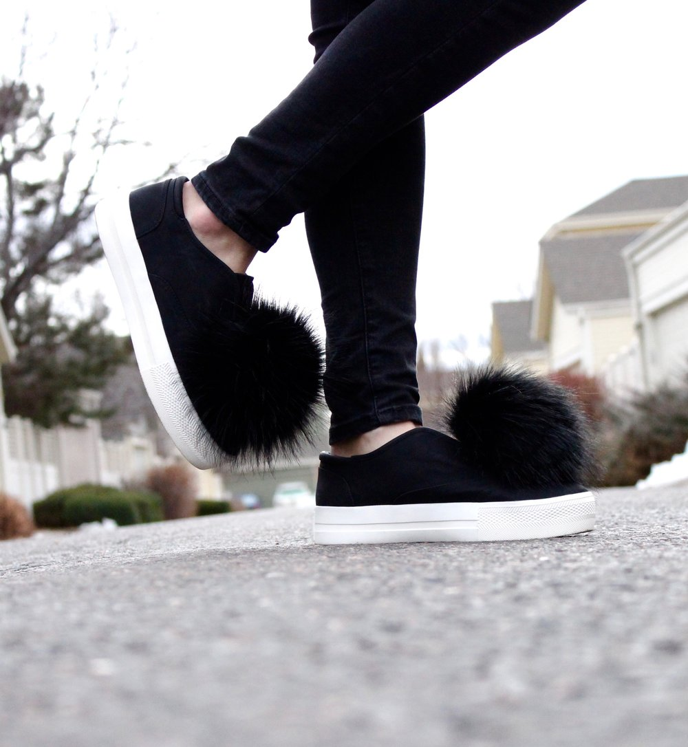 Puff Ball Shoes