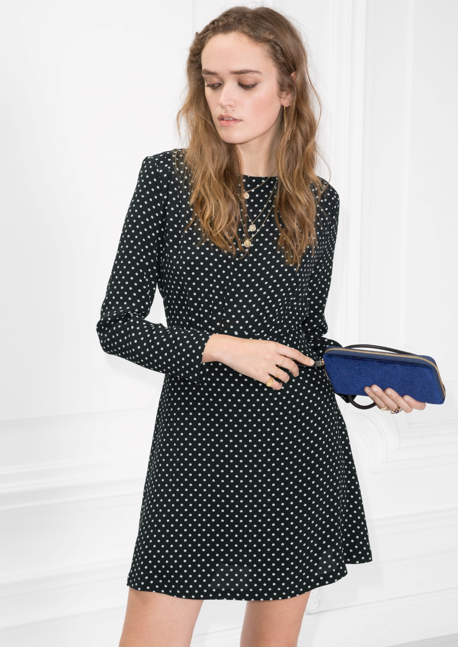 Mini Dotted Dress