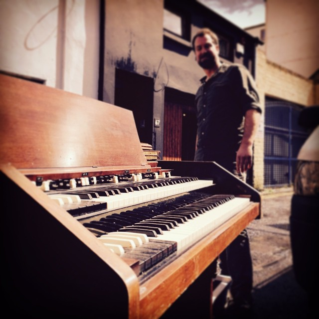 New arrival in Camden Studios. The Hammond...not Rory!