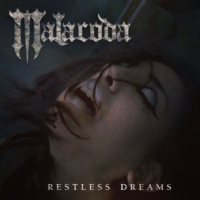 """Finally- the moment you've all been waiting for! The new album """"Restless Dreams"""" is set to be released via ROCKSHOTS RECORDS on October 19 in North America and October 26 in Europe. . . . for further info: www.rockshots.eu http://www.malacodametal.com https://www.instagram.com/malacodametal/ . . #newmetalrelease #darkmetal #horror #silenthill2 #malacoda #restlessdreams #ibanez #gothic #sony @officialibanezguitars @rockshotsrecords @old_haunt_recording_studio @konami @ruemorguemag"""