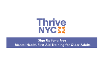 Mental Health First Aid Training For Older Adults Carter Burden
