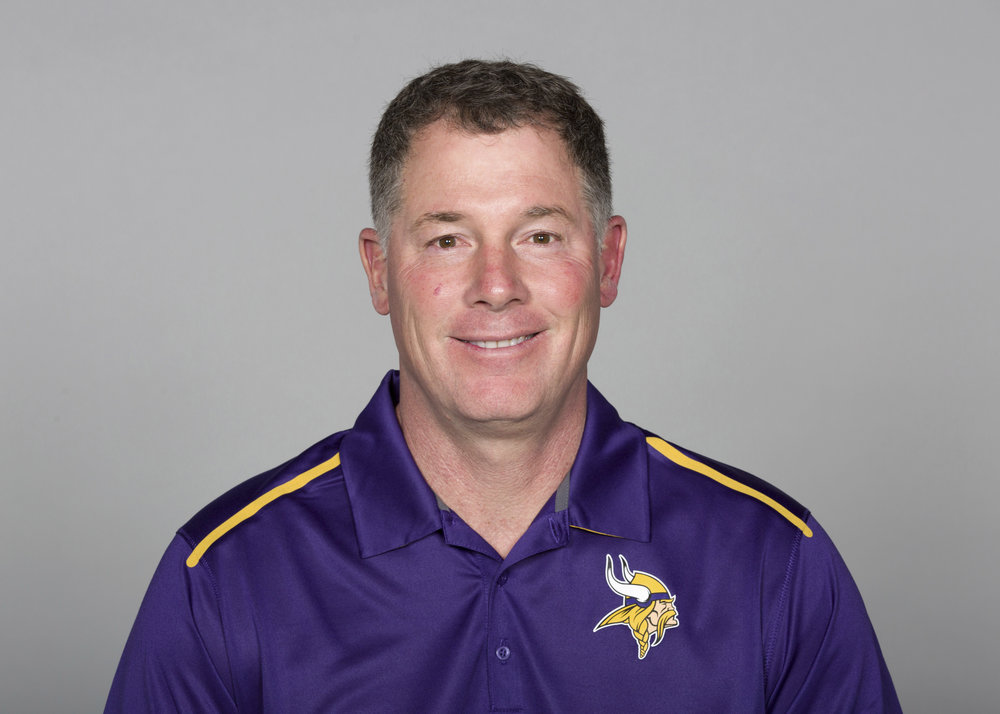 (Photo courtesy of the Minnesota Vikings. This excerpt is taken from the Catholic Spirit Magazine, located at http://thecatholicspirit.com/news/local-news/vikings-pat-shurmur/)
