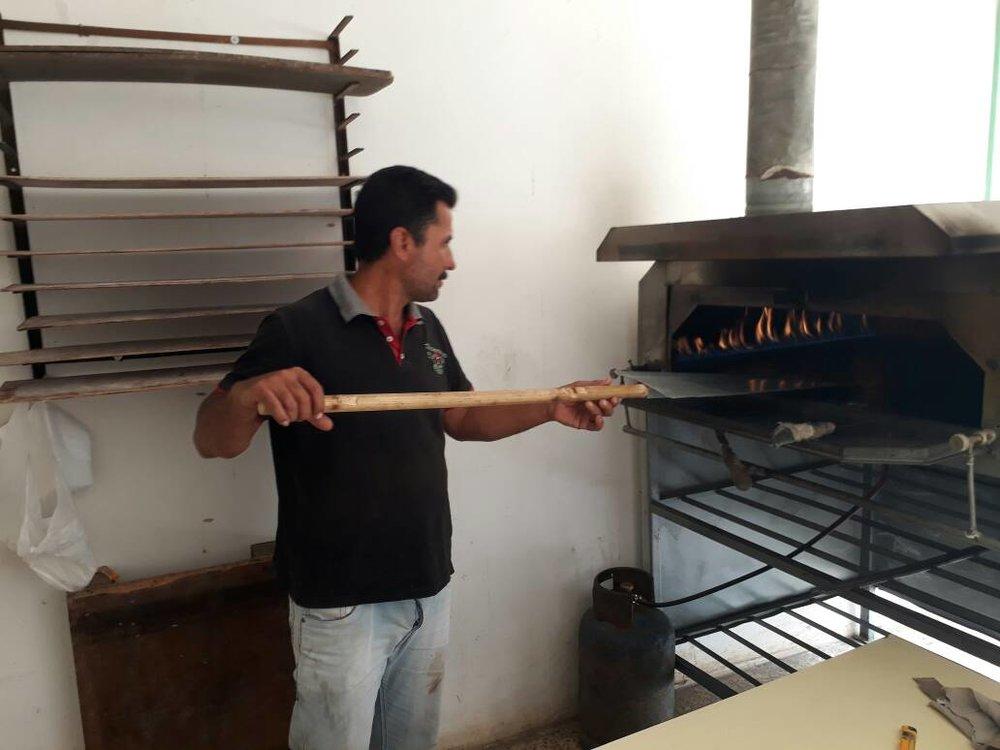 Baker in Aleppo