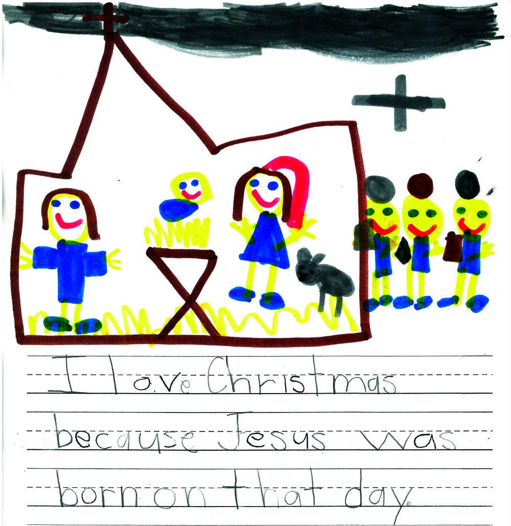 Sophie Hornig   ,  OLG School First Grader