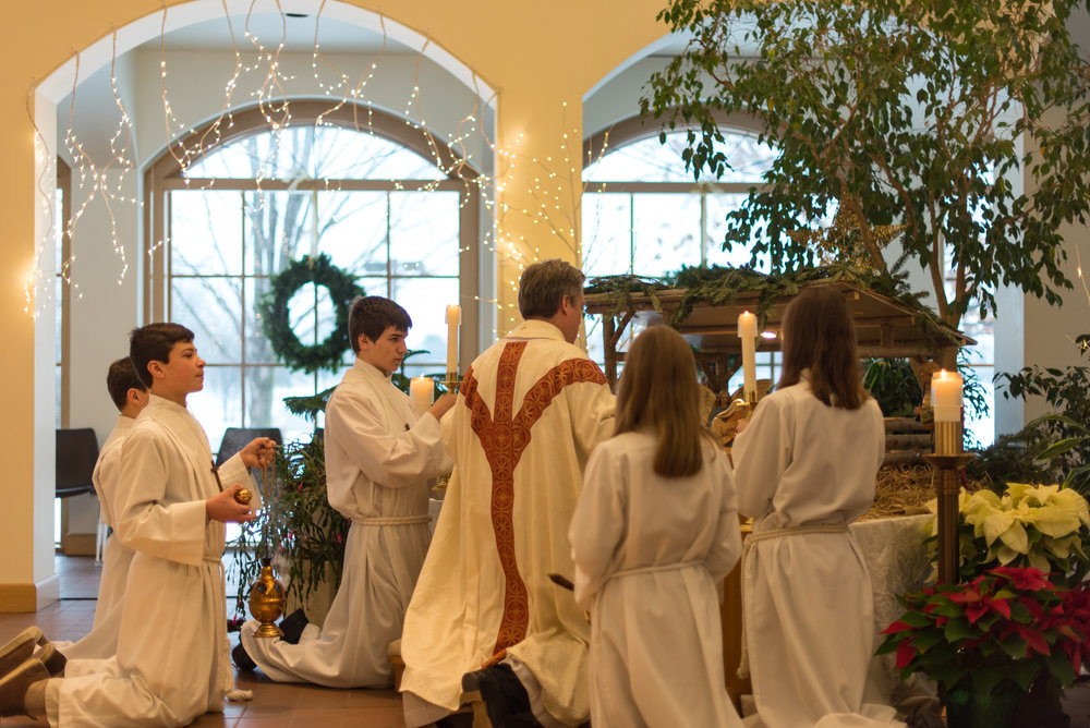 MERRY CHRISTMAS FROMFR. KEVIN -