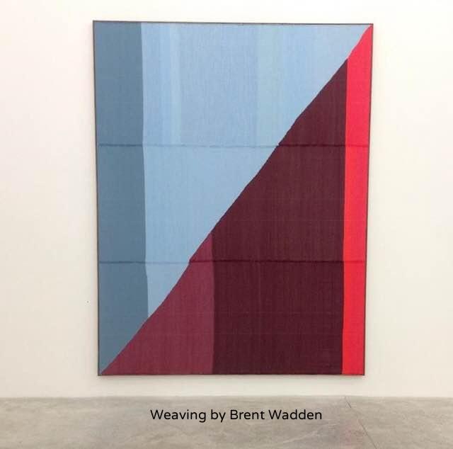 Weaving by Brent Wadden