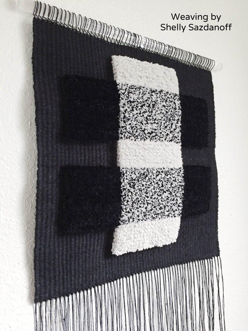 Weaving by Shelly Sazdanoff