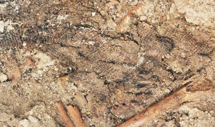 9,000 year-old-fabric remnant found in Turkey