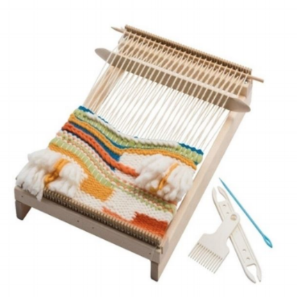 Schacht's new small frame loom, the Lilli Loom.