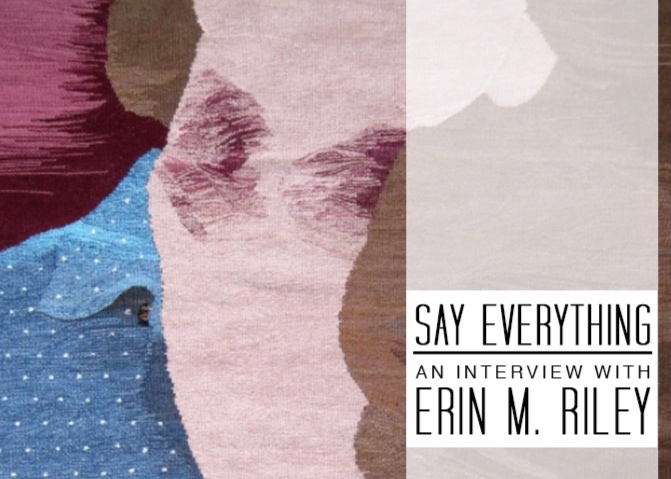 erin m riley interview the weaving kind