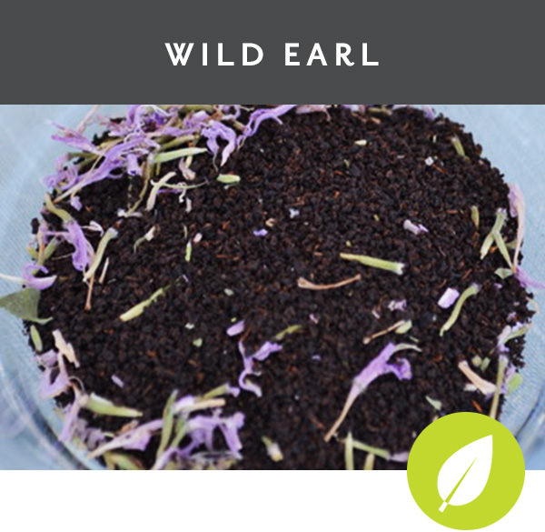 WILD EARL Wild Lavender Bergamot Black tea with wild lavender bergamot flowers and bergamot essential oil