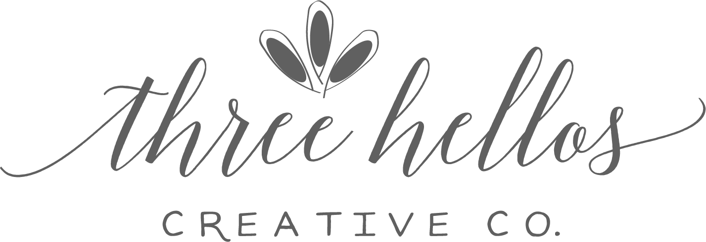 Three Hellos | Bespoke Branding, Web Design & Stationery for Passionate Creatives and Small Businesses
