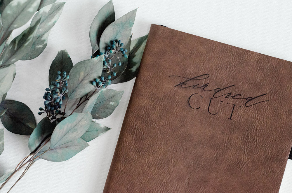Kindred Cut Leather Journal