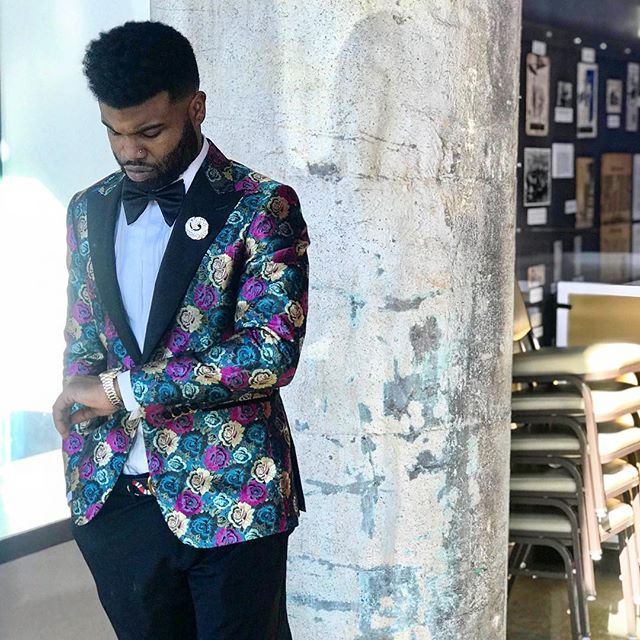 It's Go Time, Client @rickey_ricvrdo starting 2018 in style. . . . #Men #Clothes #MenClothes #HoustonStylist #WeddingStyle #Groom #BlackTie #Spring #summertime #BespokeSuits