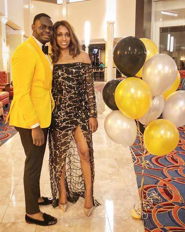 @iwant2blikemike brought in 2018 in our custom Yellow velvet tuxedo.  Bow tie: @_well_groomed_man_ . . . #Men #Clothes #MenClothes #HoustonStylist #WeddingStyle #Groom #BlackTie #Spring #summertime #BespokeSuits