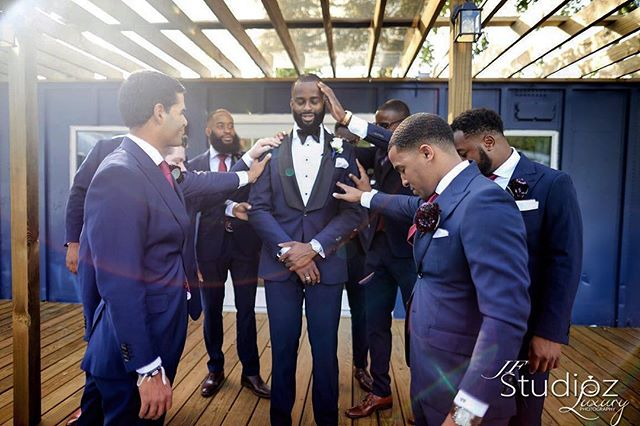 You are your brothers keeper. Congrats  @johnjack_ and thanks for trusting us. Groom and Groomsmen in custom suits and shirts by us...Getting Married? contact us to learn more about our wedding packages. 📸: @jfstudioz . . . . . #Men #Clothes #MenClothes #HoustonStylist #WeddingStyle #Groom #BlackTie #Spring #summertime #BespokeSuits #wedding #weddinginspiration #groomsman #mensfashion #mensuit #customsuits
