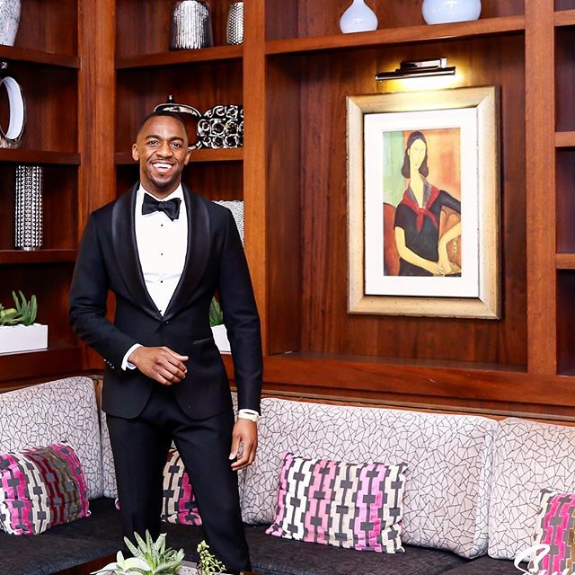 Our gent Uche said he felt like James Bond minus the Aston Martin. Did we nail this classic Tux look? . . . . #Men #Clothes #MenClothes #HoustonStylist #WeddingStyle #Groom #BlackTie #Spring #summertime #BespokeSuits #wedding #weddinginspiration #groomsman #mensfashion #mensuit #customsuits