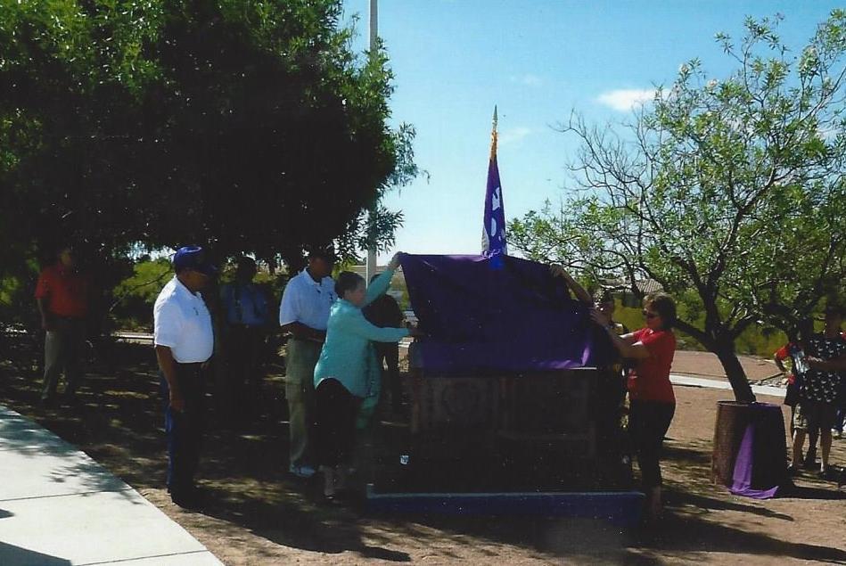 August 7, 2016, monument unveiling