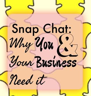 Let Snap Chat help build, and develop, your brand