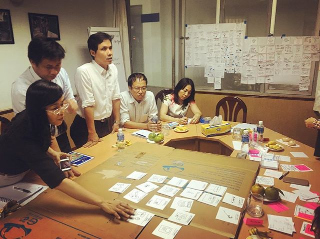 Back at CEP for one week of marketing, ideation and prototyping with 17Triggers! #optixproject #cep #vietnam