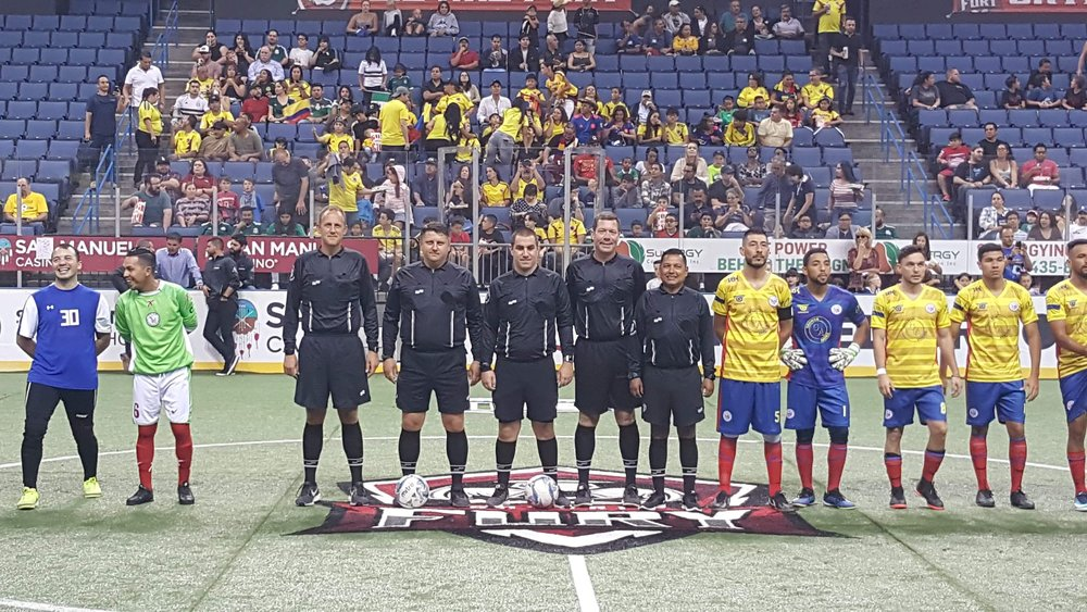 Mexico vs Columbia (All Elite Referees )