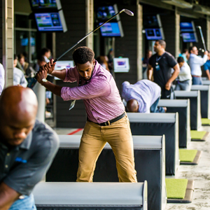Adults will have access to all three levels at Topgolf including unlimited food soda & water, a sponsor area with food, adult beverages, private golf bays, music, a bags and more!