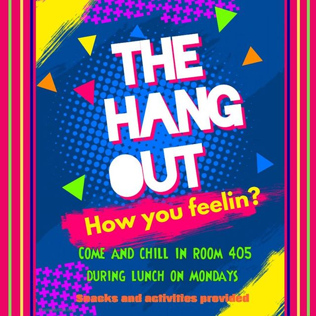 Looking for something to do at lunch? Catch us in room 405!!