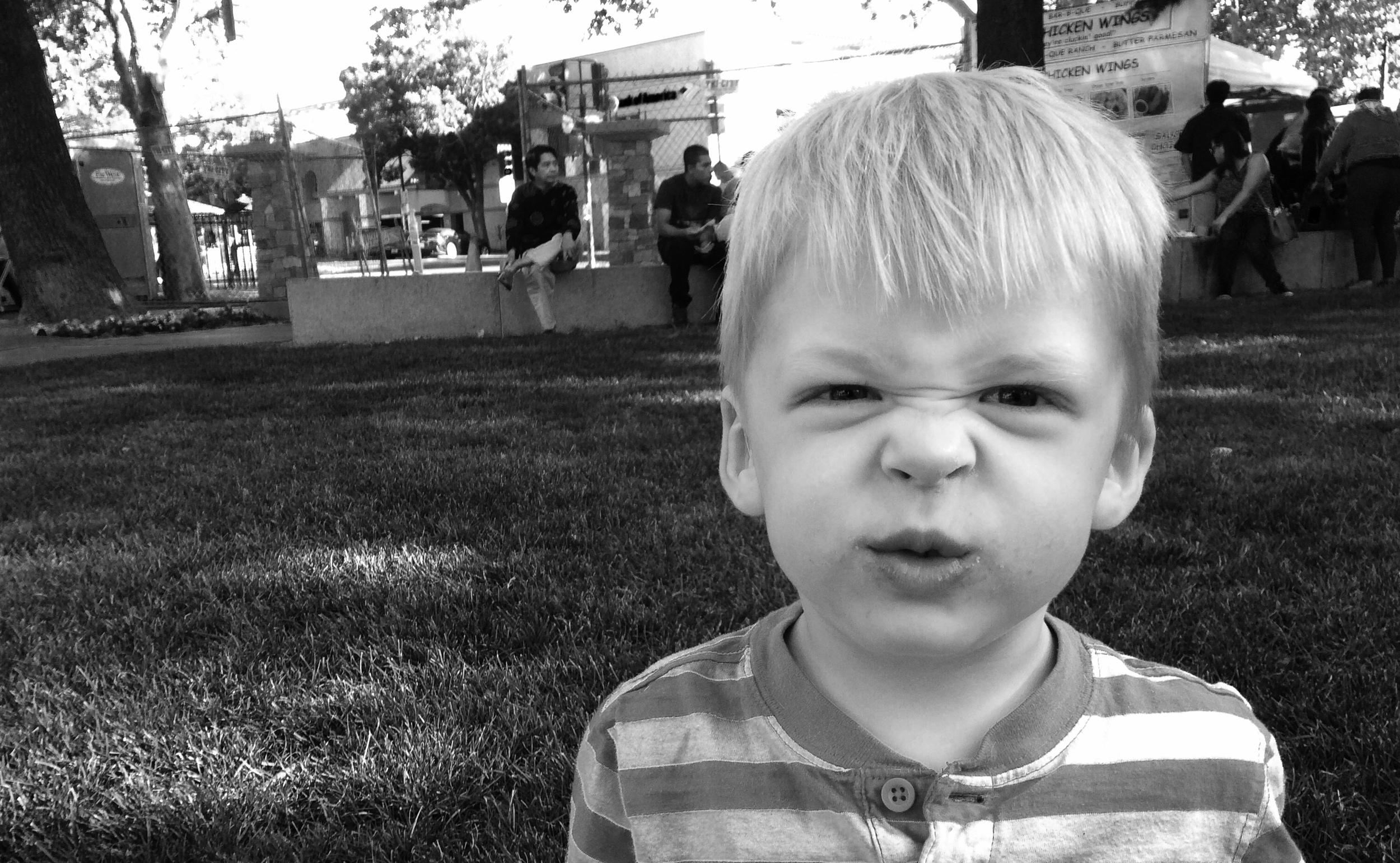 "Everett's ""Mad Face"""