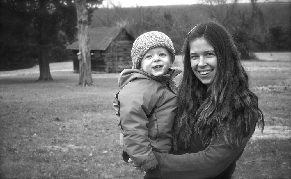 Everett and I in my (clean) long-haired days