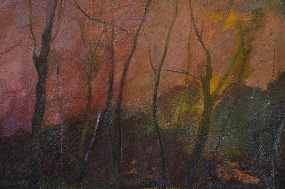 Pink Fog detail, Fritz Drury
