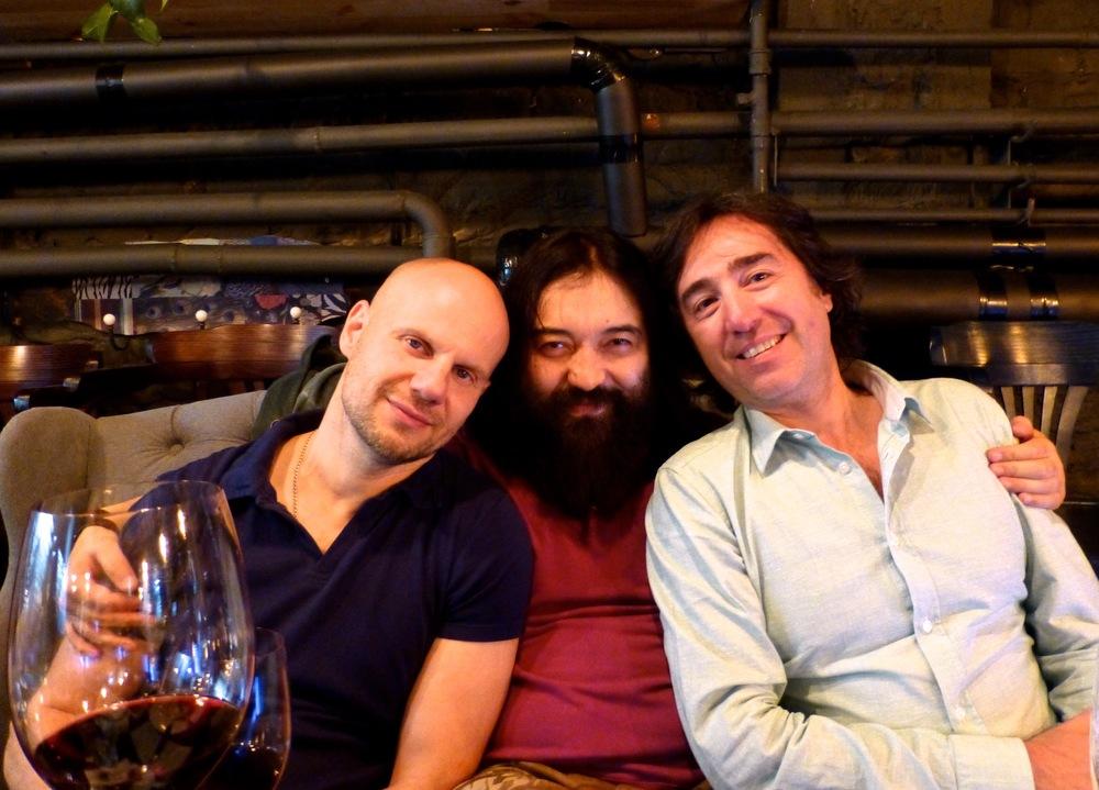 Arman Mourzagaliyev, Aleksey & Dmitri.jpg
