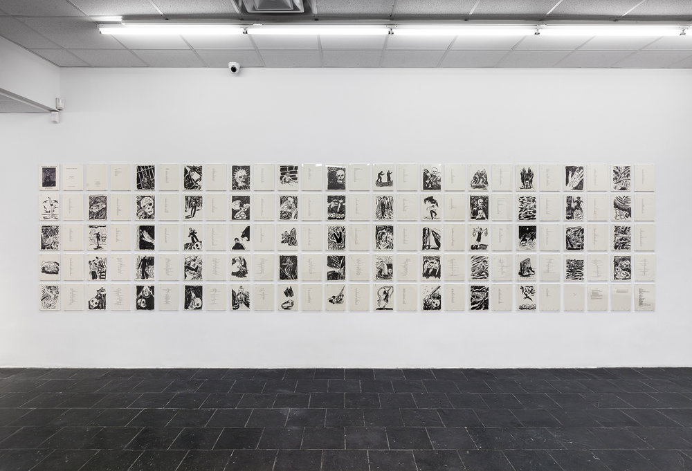 Installation view of Richard Bosman's Grasping at Emptiness (1985) © Richard Bosman, Photo Credit: Daniel Pérez