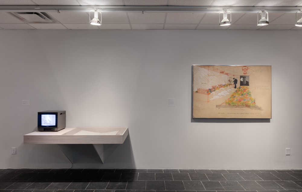 Installation View: The School of Survival: Learning with Juan Downey , Hunter College Art Galleries, 2018.Photo by Stan Narten.
