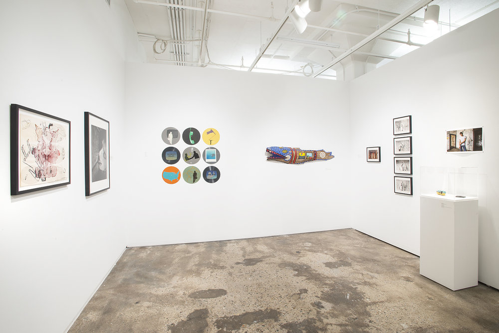 Installation view:  Something Possible Everywhere: Pier 34 NYC, 1983–84 , Hunter College Art Galleries, 2016. Photo by Bill Orcutt.