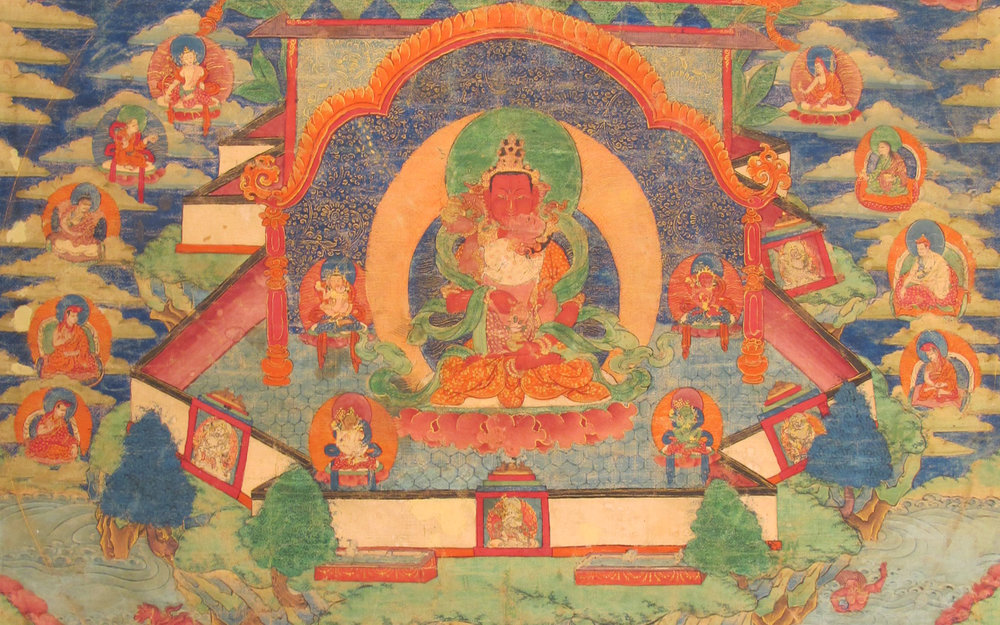 Tibetan Thangkas: The Art of Visualization