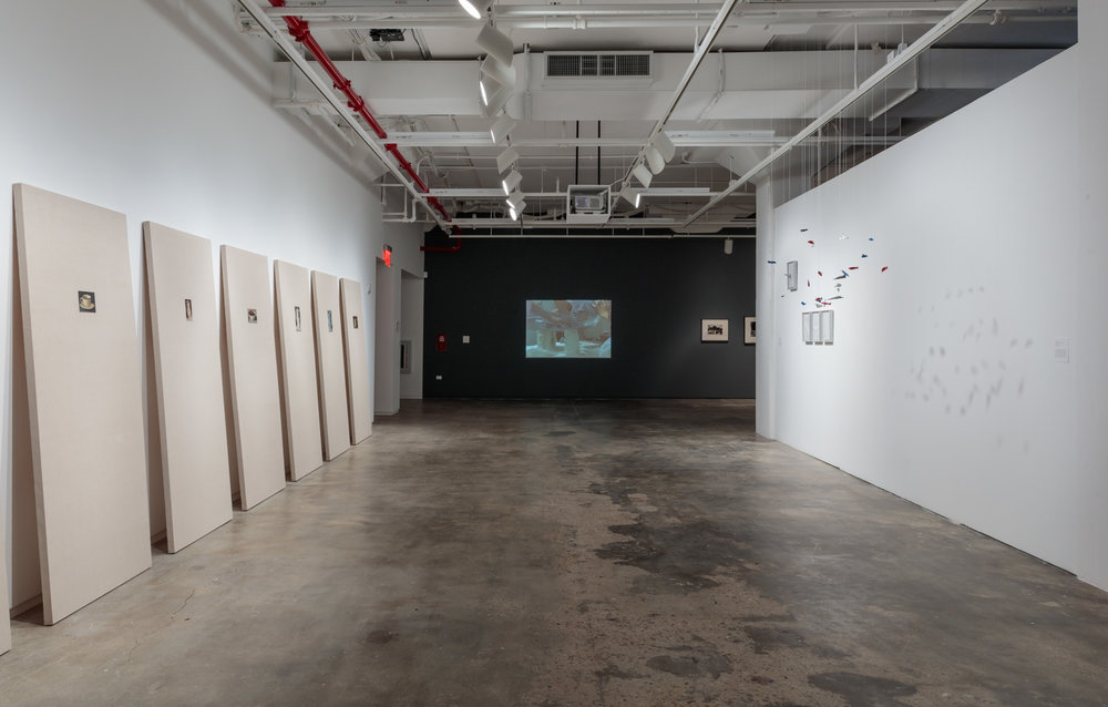 Installation View:  Copy, Translate, Repeat: Contemporary Art from the Colección Patricia Phelps de Cisneros , Hunter College Art Galleries, 2018. Photo by Stan Narten.