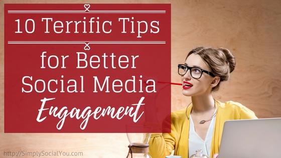10 Tips Social Media Engagement