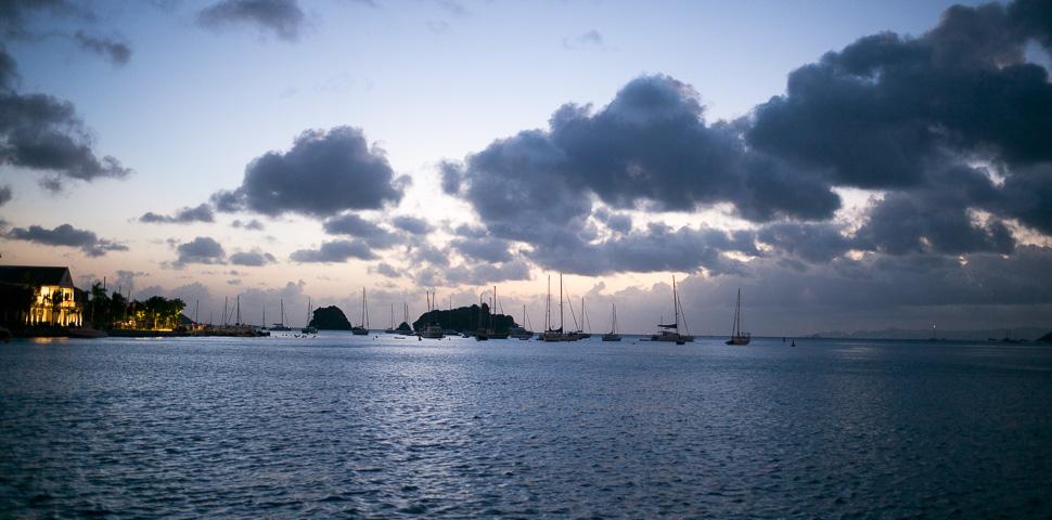 Sunset / Coucher du Soleil - Gustavia