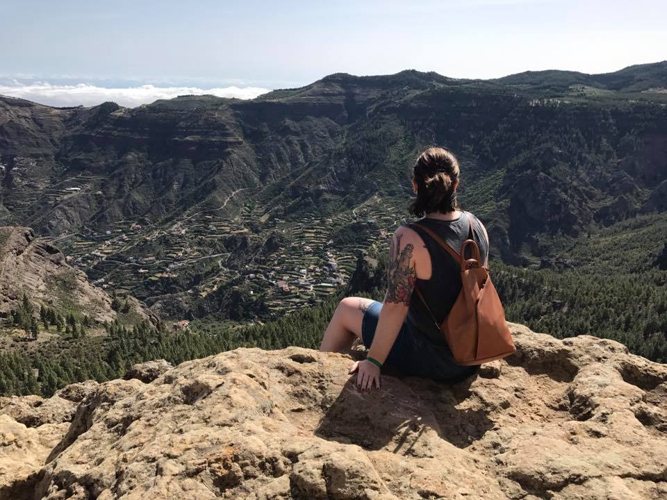 top of roque nublo, gran canaria