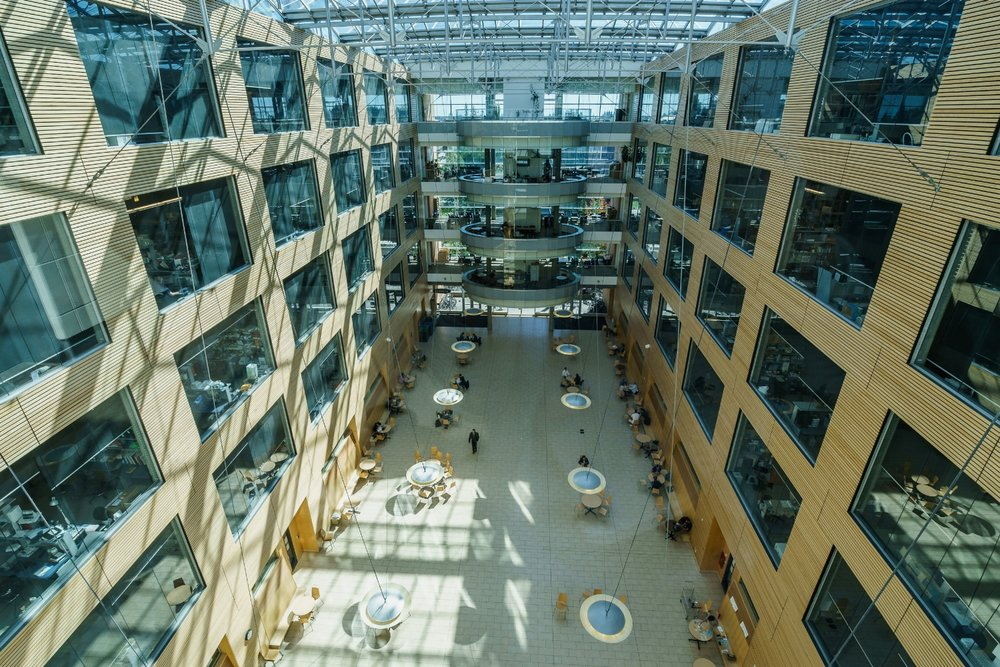 Life Sciences Institute West Atrium