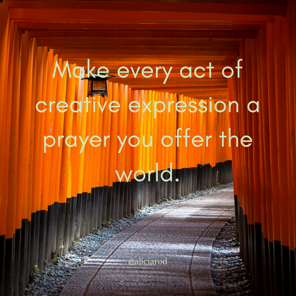 Your Art As Prayer