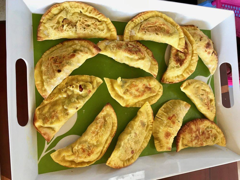 Curry empanadas