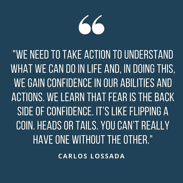 To read Catalyst Carlos' latest blog for us alllll on confidence, click the link in our bio. #jrni #confidence #coaching