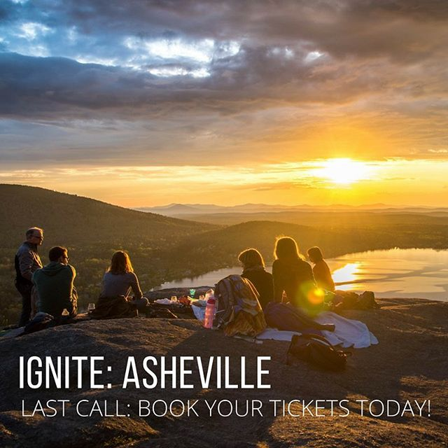 Today is the last day to book your tickets for IGNITE:Asheville -April 6th-8th 2018. What's IGNITE? An event created + led by our certified life coaches for YOU. A 3-day retreat filled with workshops, yoga, meditation, and small group activities. Join us now. Click the link in our bio. #jrni #igniteyourjrni  Those of you who are attending, what's one thing you hope to take away from the weekend?