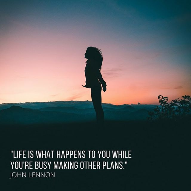 When did life not go as planned, but turned out better than you could have imagined? Let us know in the comments 👇🏼#jrni #lifequotes #selfimprovement